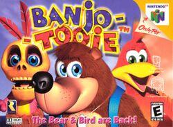 Box artwork for Banjo-Tooie.