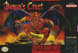 Box artwork for Demon's Crest.