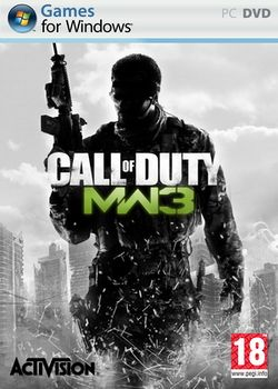Box artwork for Call of Duty: Modern Warfare 3.
