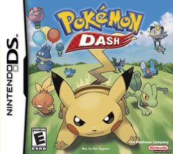 Box artwork for Pokémon Dash.