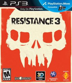 Box artwork for Resistance 3.