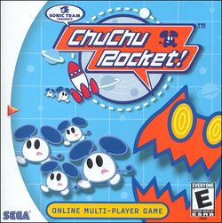 Box artwork for ChuChu Rocket!.