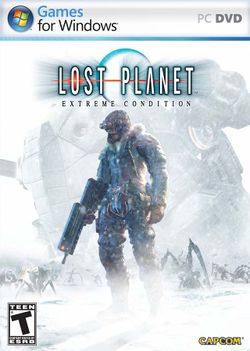 Box artwork for Lost Planet: Extreme Condition.