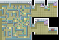 Pok mon firered and leafgreen rocket hideout for Floor 5 boss map