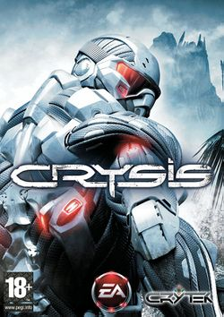 Box artwork for Crysis.