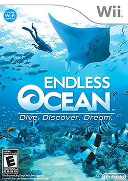 Box artwork for Endless Ocean.