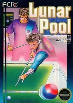 Box artwork for Lunar Pool.