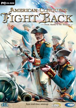 Box artwork for American Conquest: Fight Back.