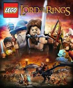 Box artwork for LEGO Lord of the Rings.