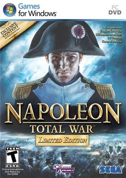 Box artwork for Napoleon: Total War.