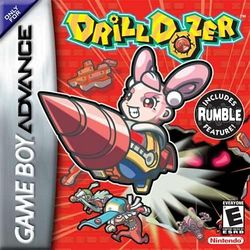 Box artwork for Drill Dozer.