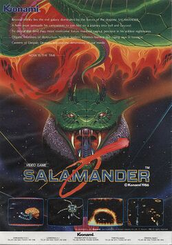 Box artwork for Salamander.