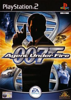Box artwork for James Bond 007: Agent Under Fire.