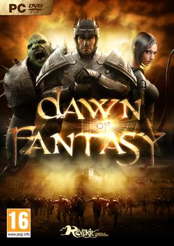 Box artwork for Dawn of Fantasy.