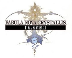 The logo for Fabula Nova Crystallis Final Fantasy XIII.