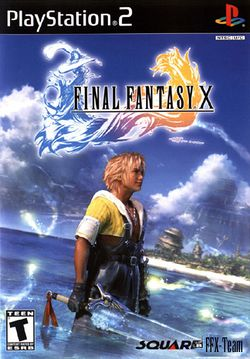 Box artwork for Final Fantasy X.