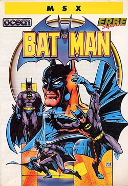 Box artwork for Batman.