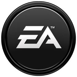Electronic Arts's company logo.
