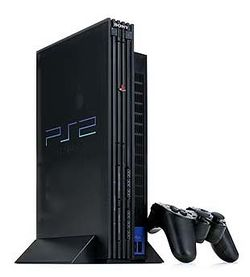 The console image for PlayStation 2.