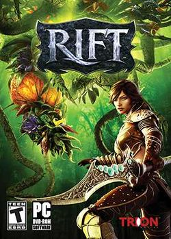 Box artwork for RIFT.