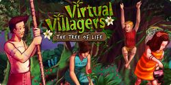 Box artwork for Virtual Villagers 4: The Tree of Life.