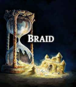 Box artwork for Braid.