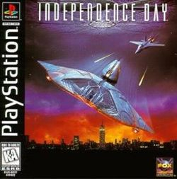 Box artwork for Independence Day.