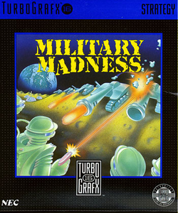 Box artwork for Military Madness.