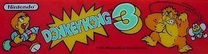 Donkey Kong 3 marquee