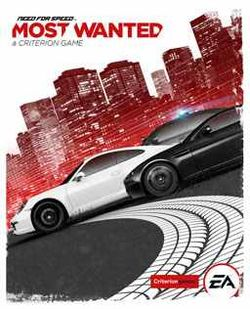 Box artwork for Need for Speed: Most Wanted (2012).