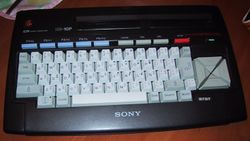 The console image for MSX.