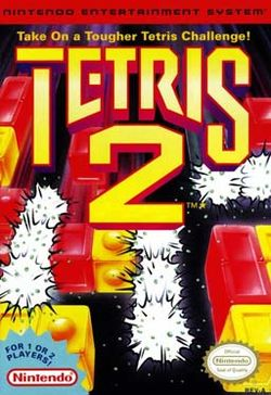 Box artwork for Tetris 2.