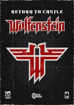 Box artwork for Return to Castle Wolfenstein.