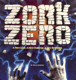 Box artwork for Zork Zero.