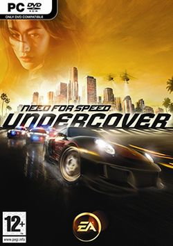 Box artwork for Need for Speed: Undercover.