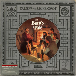 Box artwork for The Bard's Tale: Tales of the Unknown: Volume I.