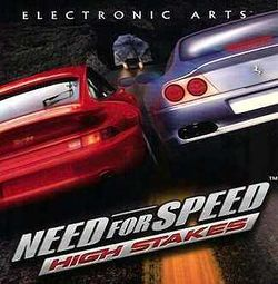 Box artwork for Need for Speed: High Stakes.