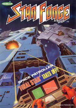 Box artwork for Star Force.