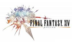 Box artwork for Final Fantasy XIV.