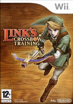 Box artwork for Link's Crossbow Training.