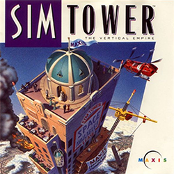 Box artwork for SimTower.