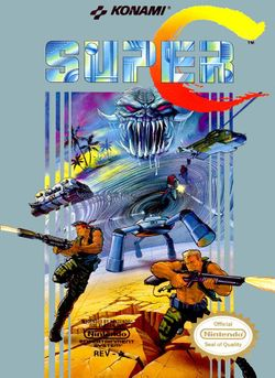 Box artwork for Super C.