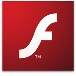 The console image for Adobe Flash.