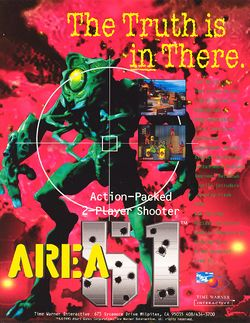 Box artwork for Area 51.