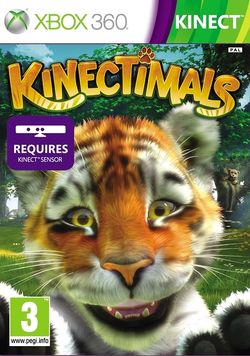 Box artwork for Kinectimals.
