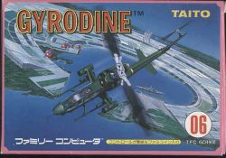 Box artwork for Gyrodine.
