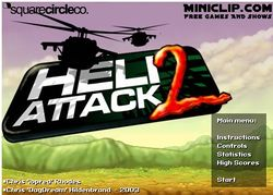 Box artwork for Heli Attack 2.