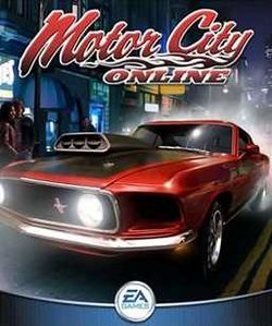 Box artwork for Motor City Online.