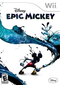 Box artwork for Epic Mickey.