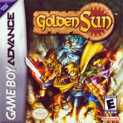 Box artwork for Golden Sun.